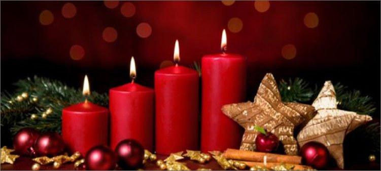 рождественские-свечи