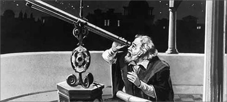 галилео-галилей-смотрит-в-телескоп