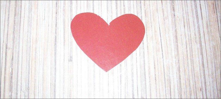 сердечко-из-картона