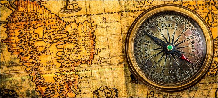 компас-и-карта