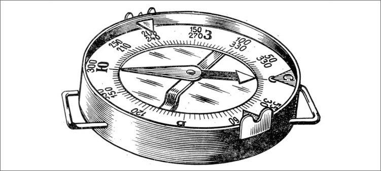 магнитный-компас-рисунок