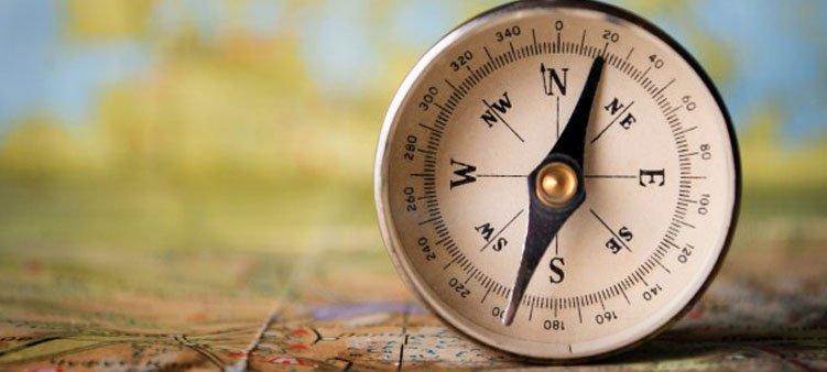 Как правильно работать с компасом