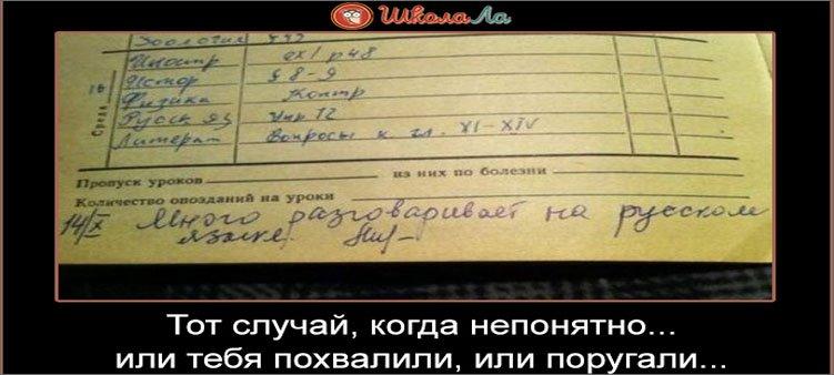 запись-учителя-в-дневнике