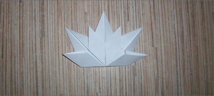 полузвездочка-оригами