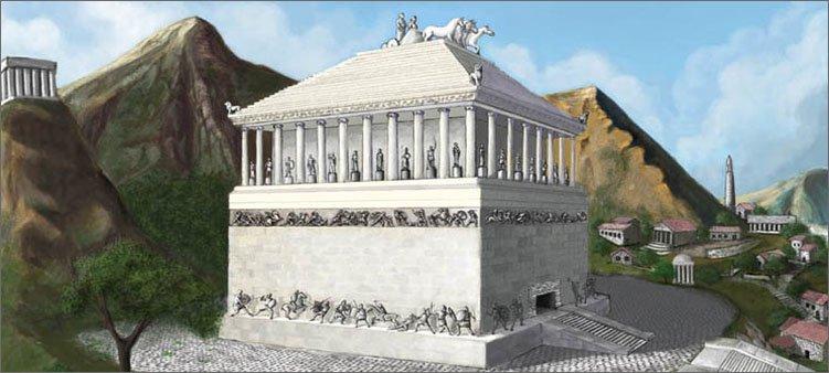 галикарнасский-мавзолей