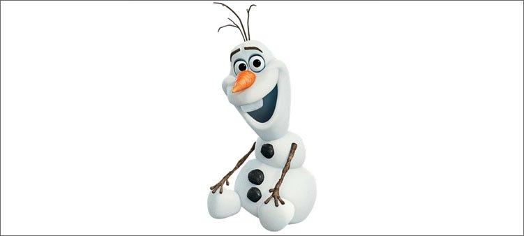 снеговик-олоф