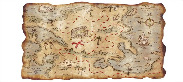 пиратская-карта