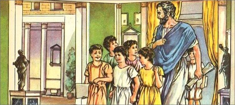 древнеримские-дети