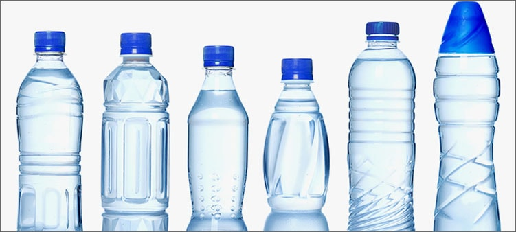 бутылки-с-водой
