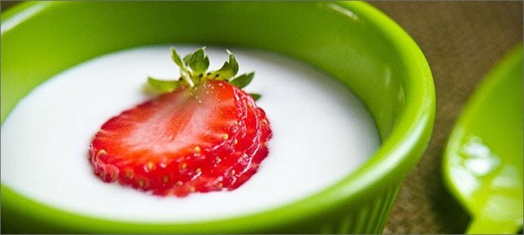 ягодка-в-кефире