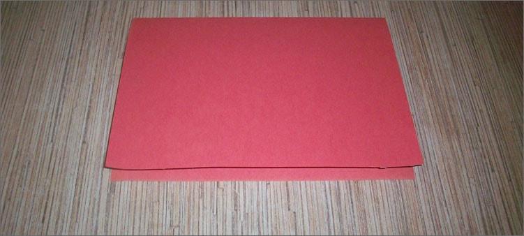 сгибаем-розовый-картон