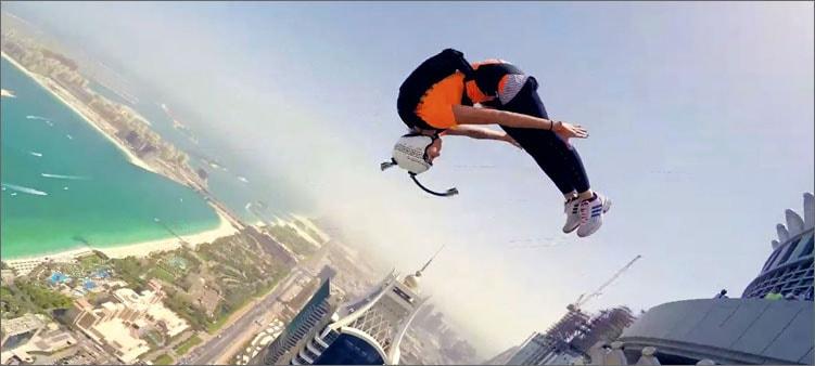 прыжок-бейсджампинг