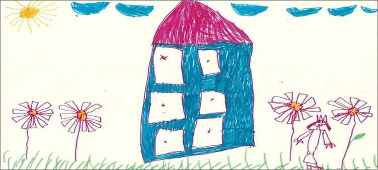 рисунок-домик