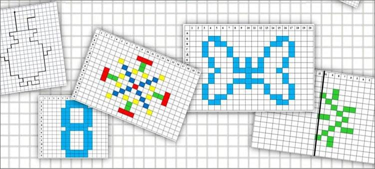 графические-диктанты