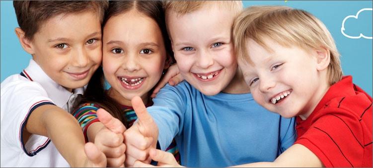дети-улыбаются