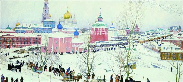 троицкая-лавра-зимой