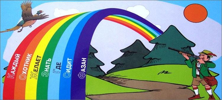 цвета-радуги