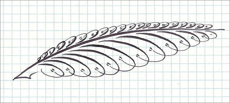 каллиграфия-перо