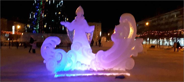 снегурочка-изо-льда
