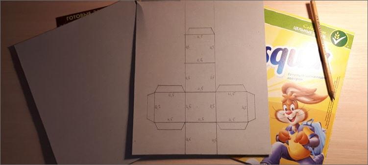 чертеж-кубика