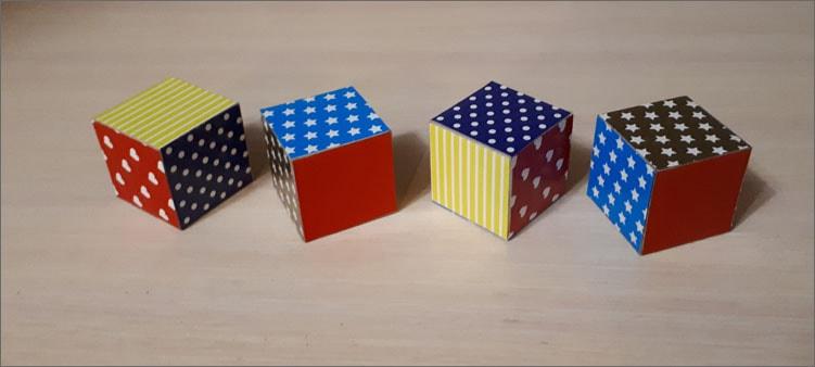 обклеиваем-кубики