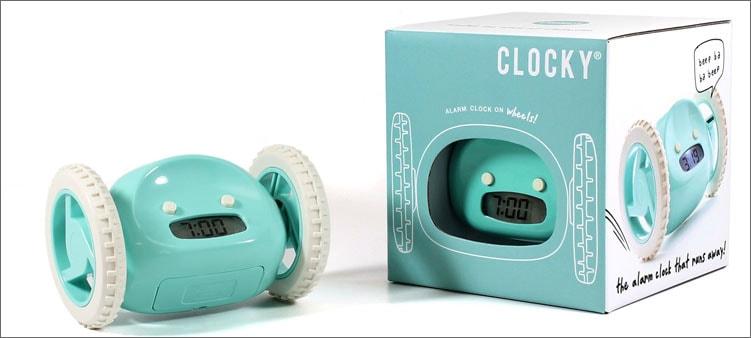 будильник-Clocky