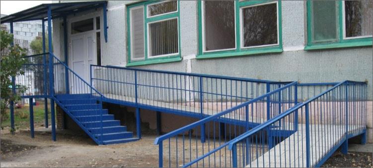 пандус-в-школе