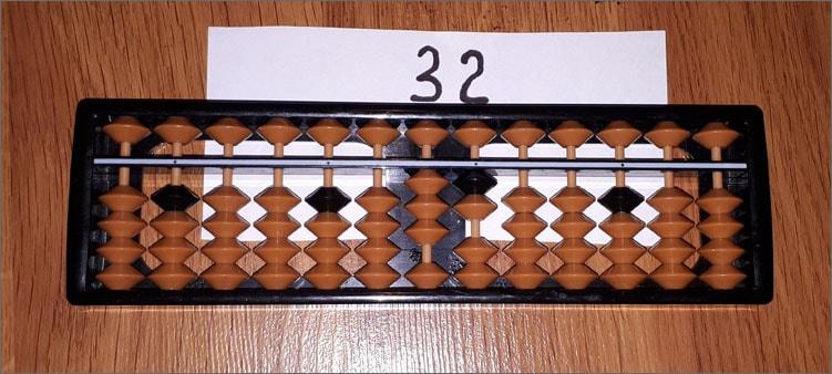 32-на-абакусе