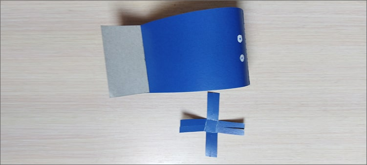 фонтан-из-картона